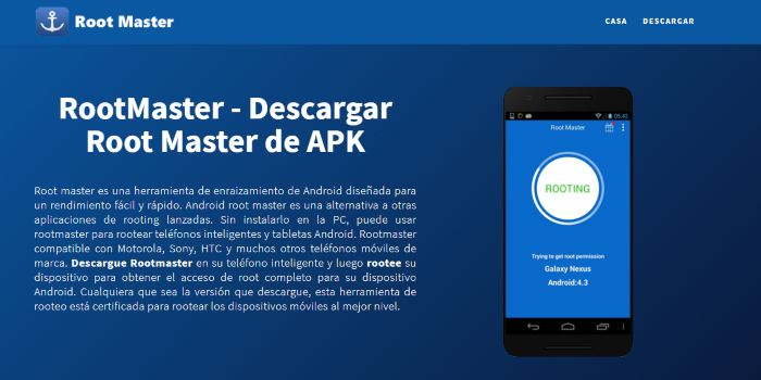 Rootear Android con Root Master